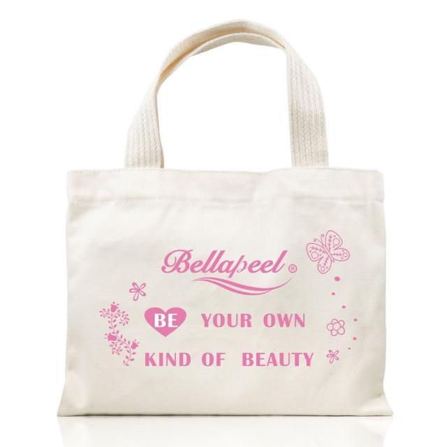 【Bellapeel 蓓拉佩爾】環保帆布袋手提袋(做你想要的自己)