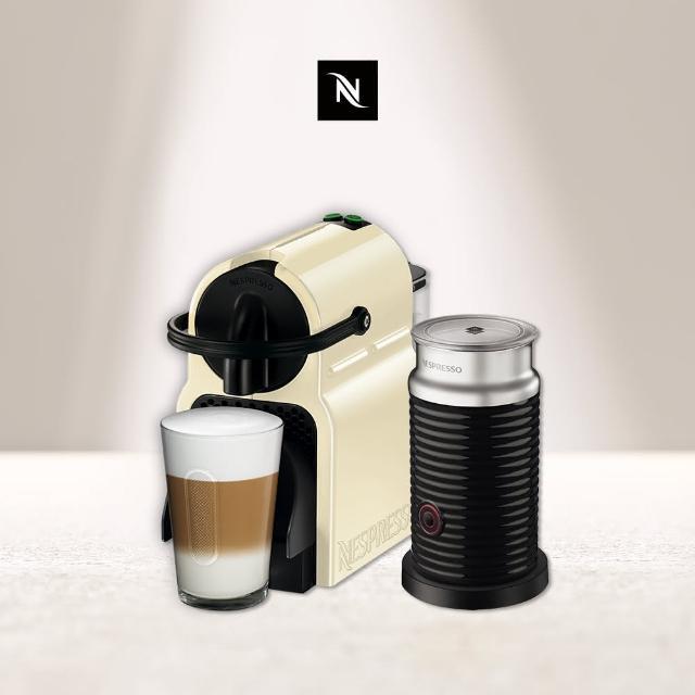 【Nespresso】Inissia 紅 奶泡機組合