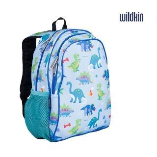【美國Wildkin】兒童後背包/雙層式便利書包(14408恐龍樂園)