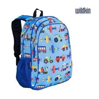 【美國Wildkin】兒童後背包/雙層式便利書包(14079交通工具大集合)