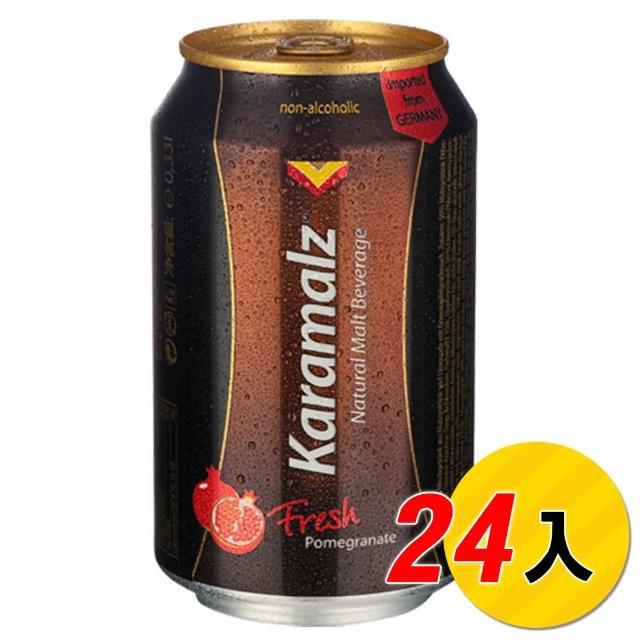 【Karamalz 卡麥隆】卡麥隆黑麥汁_紅石榴(330ml*24入)