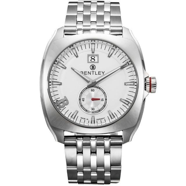 【Bentley 賓利】Solstice系列 黑暗紳士手錶(銀 BL1681-50000)