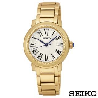 【SEIKO 精工】貴氣羅馬石英腕錶(SRZ450P1)