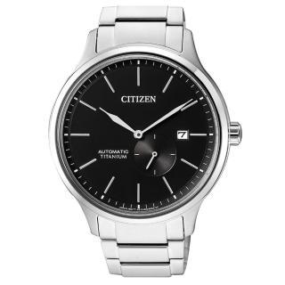 【CITIZEN 星辰】GENTS 紳仕氣度機械男錶/鈦金屬(NJ0090-81E)