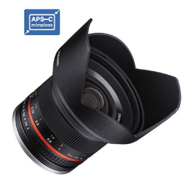 【韓國SAMYANG】12mm F2  APS-C 微單眼手動鏡頭(公司貨 富士X Mount)