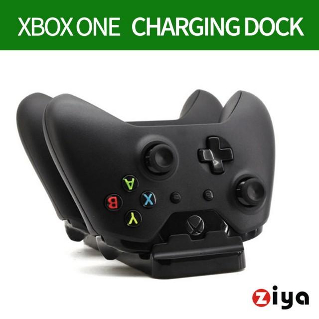 【ZIYA】XBOX ONE 副廠 遊戲手把 遙控器手把充電座 座充組合(贈送電池2入)