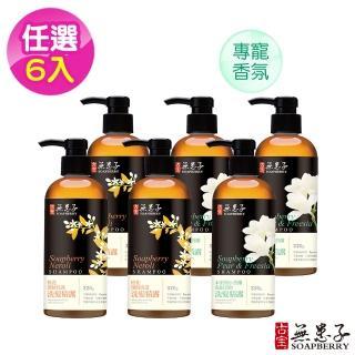 【古寶無患子】輕香氛洗髮精露320g(橙花/小蒼蘭任選6入)