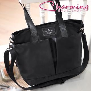 【Charming Bags】多夾層設計手提肩背包(LG-797)