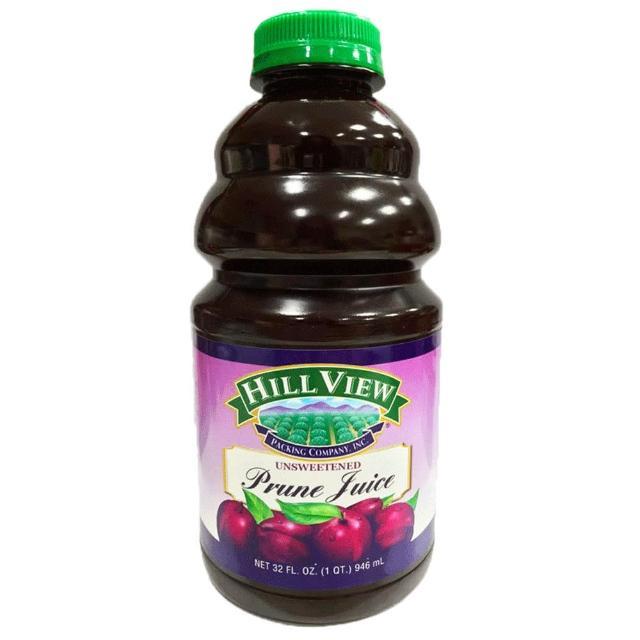 【美國Hill View】100%黑棗汁(946ml/瓶)