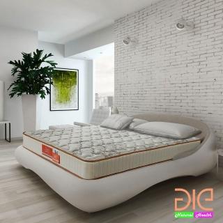 【aie】天絲棉+竹碳紗+記憶膠蜂巢式獨立筒床墊-雙人5尺(實惠型)