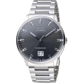 【MIDO 美度】Commander 指揮官系列 Big Date紀念日腕錶(M0216261106100)