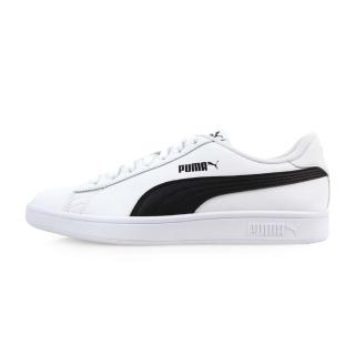 【PUMA】男_彪馬_Smash v2 L_休閒運動鞋 白黑(36521501)