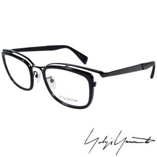 【Y-3山本耀司】Yohji Yamamoto 時尚立體方框造型光學眼鏡(深藍 YY1019-613)