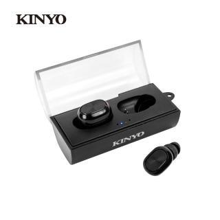 【KINYO】迷你雙耳立體聲藍芽耳機(BTE3920)