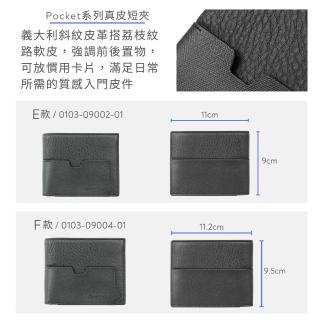【Crocodile】鱷魚皮件 真皮短夾 零錢男夾 拉鍊零錢男夾0203-1101/1102/1103/1104黑咖兩色