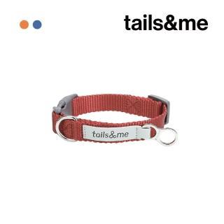 【tails&me 尾巴與我】經典尼龍帶項圈 單色款 M(多色可選)
