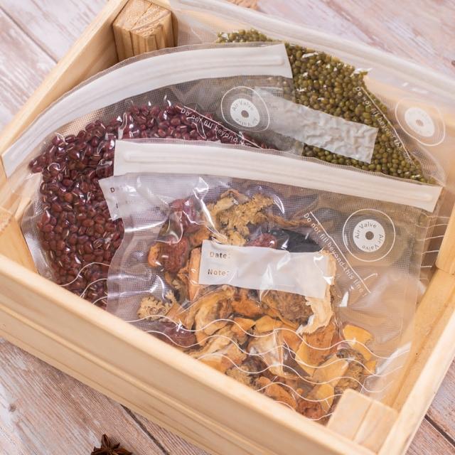 【摩肯】DR. SAVE 摩肯Dr.Save 食品真空保鮮袋組10入/組(摩肯 食品袋 廚房 收納 整理 衣服 清潔)