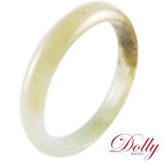 【DOLLY】福利品 A貨翡翠玉鐲-055(手圍18.5)