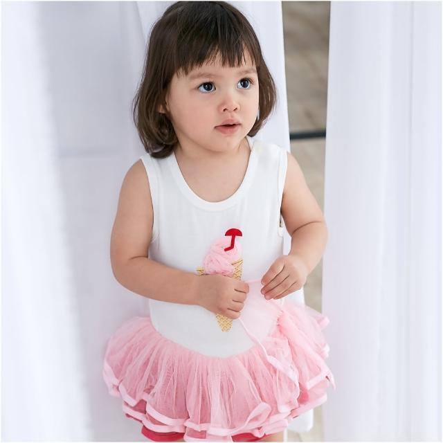 【Baby童衣】無袖立體冰淇淋蓬蓬包屁裙 32151(共1色)