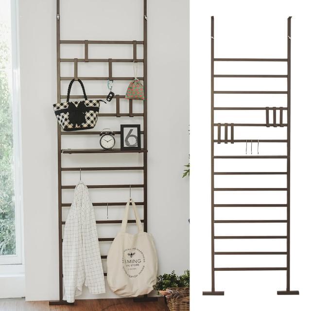 【樂活主義】落地式萬用木板掛架/收納架/置物架-60CM(兩色可選)