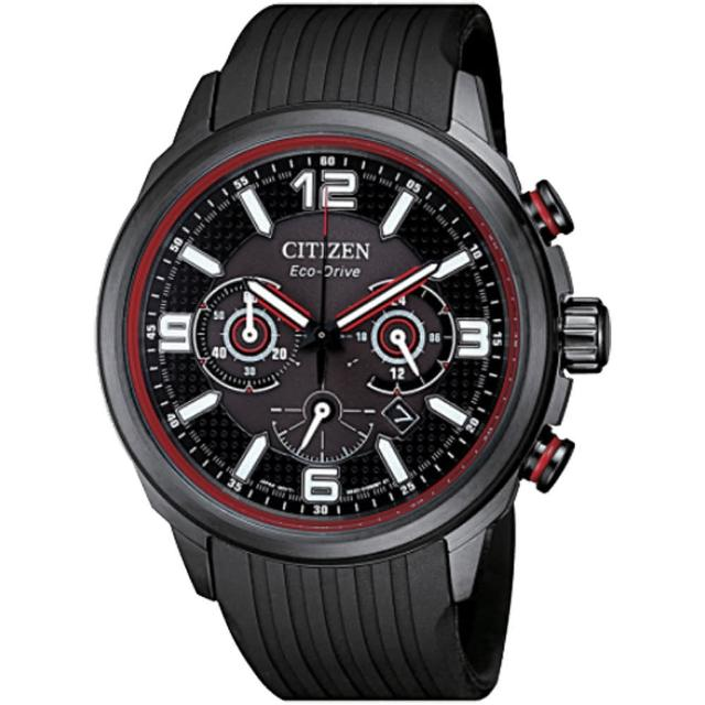 【CITIZEN 星辰】CITIZEN Eco-Drive 絕地武士光動能時尚腕錶(CA4386-10E)