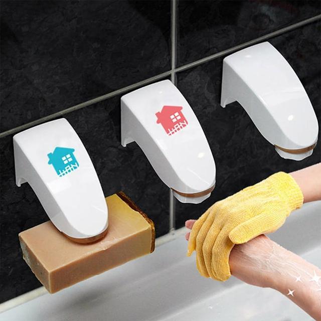 【HANPLUS】韓國愛韓家磁性肥皂架(磁鐵肥皂架 吸力 皂盒 皂盤 不沾黏 易清洗 香皂肥皂不泡軟)