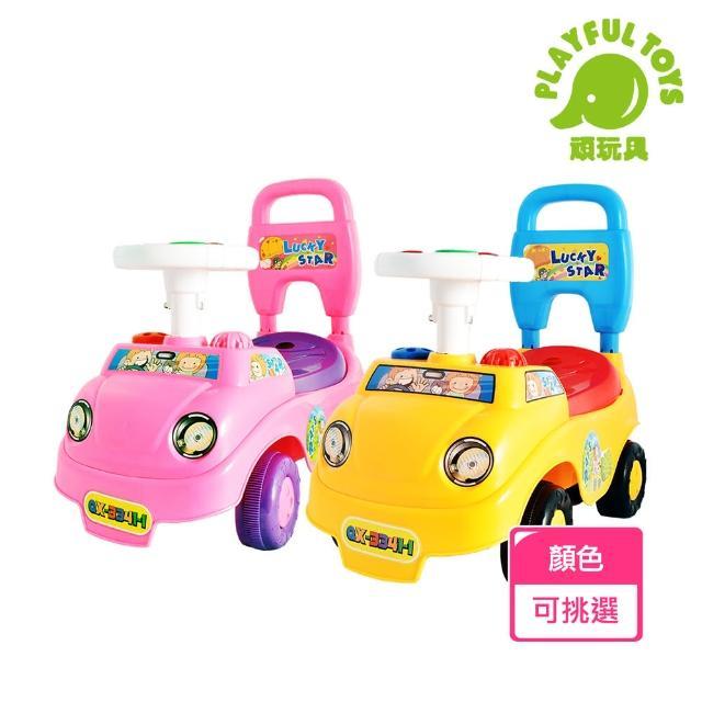 【Playful Toys 頑玩具】音樂童車(騎乘音樂車 滑步車 幼兒學步車 多功能滑步車 造型車 兒童玩具 騎乘玩具)