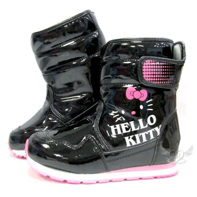 【TDL】HELLO KITTY兒童靴子太空靴黑色29-36號 8選1(95711710)