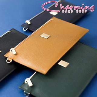 【Charming Bags】Cross Lady 十字紋防刮手掛長夾(LN-693)