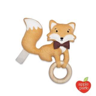 【Apple Park】隨身安撫啃咬牙環玩具(小狐狸)