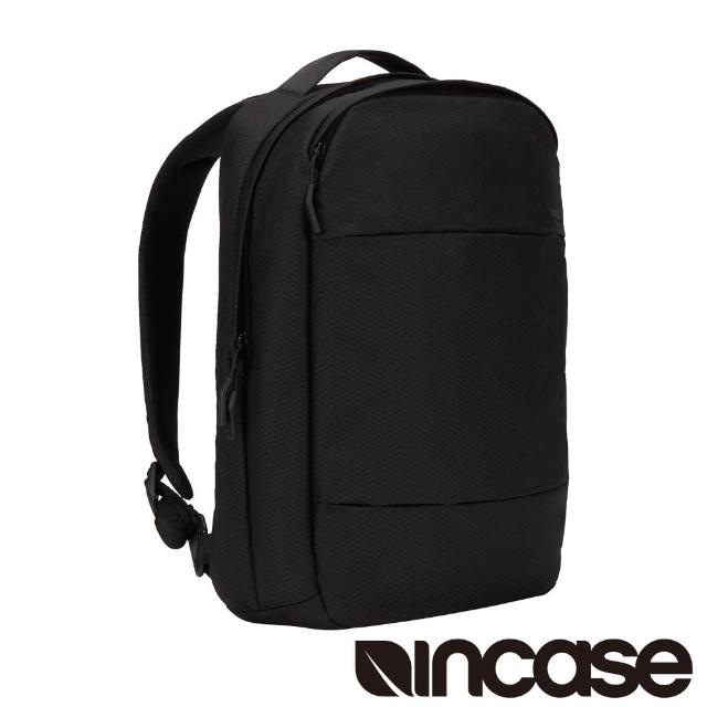 【Incase】City Compact Backpack with Diamond Ripstop 15吋 城市輕巧筆電後背包(鑽石格紋黑)