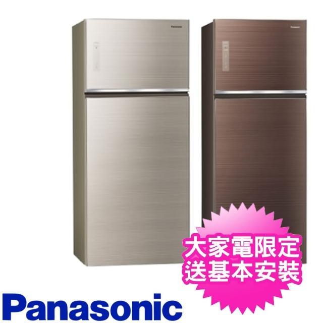 【加碼贈7-11商品卡100元★Panasonic 國際牌】579公升玻璃雙門變頻冰箱(NR-B589TG-N/NR-B589TG-T)