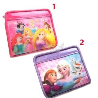 【TDL】冰雪奇緣迪士尼公主皮夾短夾皮包3D圖 2選1 87820584