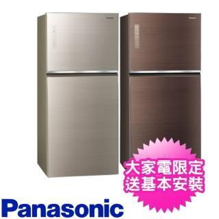 【贈7-11商品卡100元★Panasonic 國際牌】650L雙門變頻環保電冰箱(NR-B659TG-N/NR-B659TG-T)