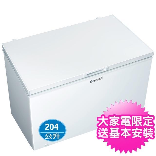 【Panasonic 國際牌】204公升上掀式冷凍櫃(NR-FC208-W)