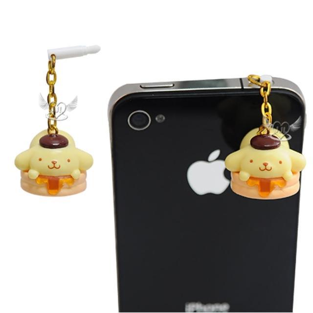 【TDL】布丁狗鬆餅耳機孔防塵塞 751724