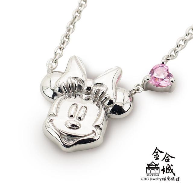 【Disney 迪士尼】日本進口美妮造型銀飾項鍊 20149(純銀925)