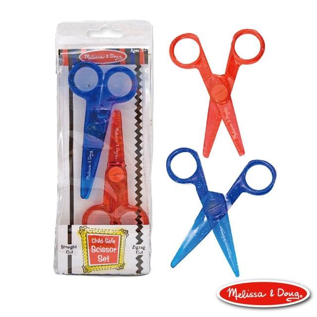 【Melissa & Doug 瑪莉莎】兒童專用塑膠安全剪刀組合包