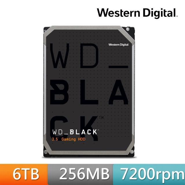【WD 威騰】WD6003FZBX 黑標 6TB 3.5吋SATA硬碟