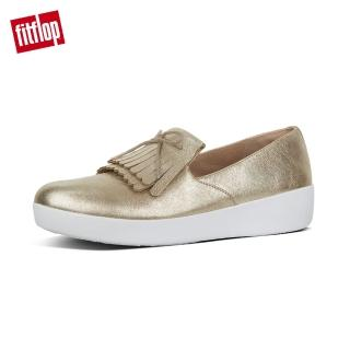 【FitFlop】SUPERSKATE FRINGE METALLIC LEATHER(金色)