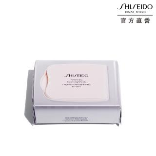 【SHISEIDO 資生堂國際櫃】資生堂 完美淨嫩卸粧布 30片/盒