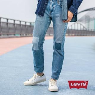 【LEVIS】上寬下窄 / 502 Taper牛仔褲 / 彈性布料 / 補丁(亞洲熱銷版型)