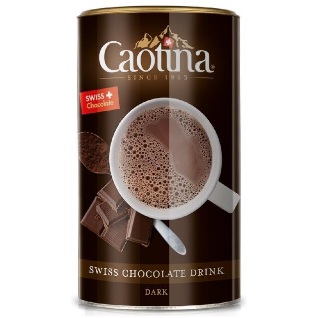 【可提娜Caotina】頂級瑞士黑巧克力粉(500g/罐)