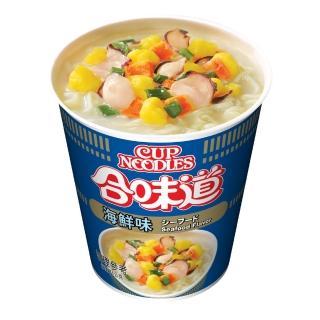 【NISSIN 日清】合味道 海鮮味杯麵 71g(泡麵)