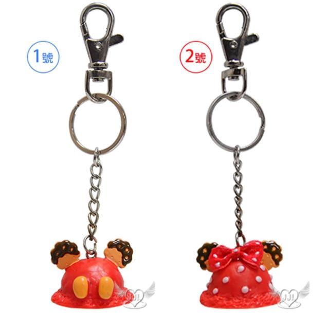 【TDL】米奇米妮餅乾造型鑰匙圈鎖圈 2選1 29166579