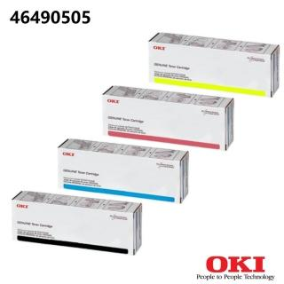 【OKI_C532/MC573 原廠黃色碳粉】46490505(OKI原廠黃色碳粉)