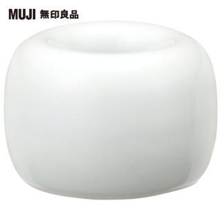 【MUJI 無印良品】白磁牙刷架/1支用