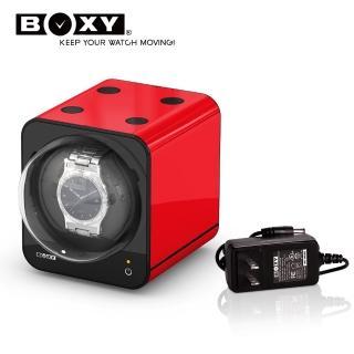 【BOXY 自動錶上鍊盒】Fancy Brick系列-含變壓器(自由堆疊 動力儲存盒 機械錶專用 WATCH WINDER 搖錶器)