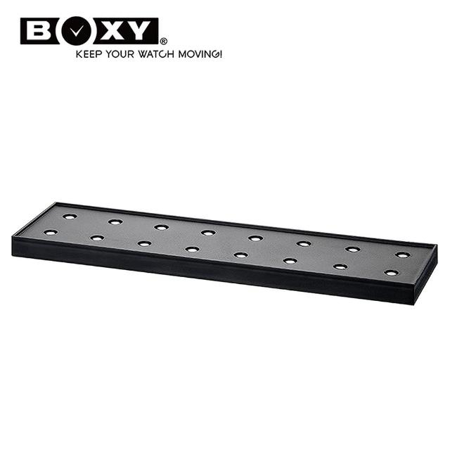 【BOXY 自動錶上鍊盒】BRICK系列-電力延伸底座-4(自由堆疊專利 動力儲存盒 機械錶專用 WATCH WINDER)