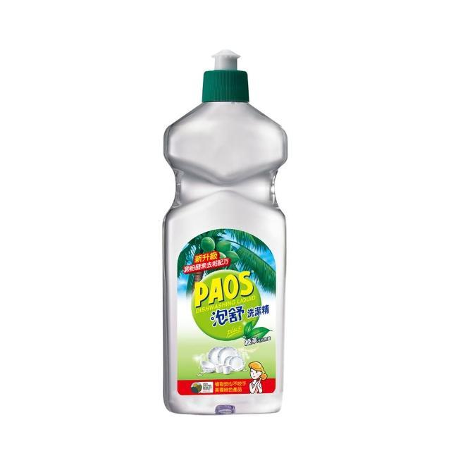 【泡舒】洗潔精 綠茶去油除腥-600g